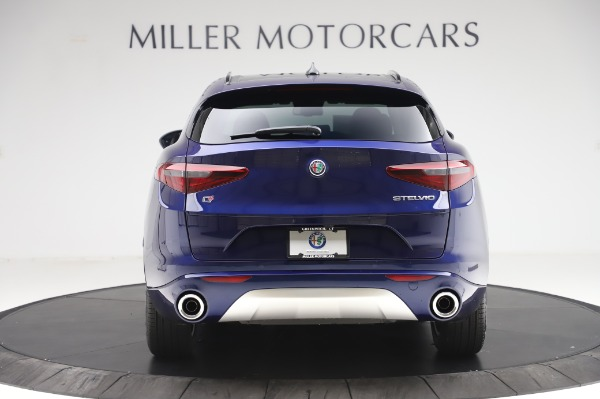 New 2020 Alfa Romeo Stelvio Sport Q4 for sale Sold at Bugatti of Greenwich in Greenwich CT 06830 6