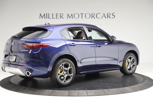 New 2020 Alfa Romeo Stelvio Sport Q4 for sale Sold at Bugatti of Greenwich in Greenwich CT 06830 8