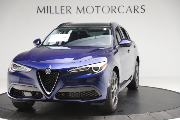 New 2020 Alfa Romeo Stelvio Sport Q4 for sale Sold at Bugatti of Greenwich in Greenwich CT 06830 1