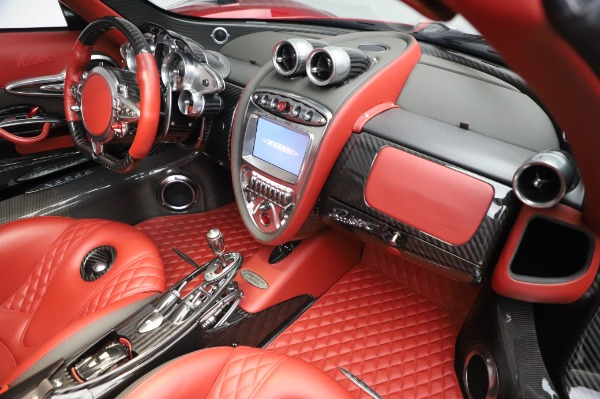 Used 2017 Pagani Huayra Roadster for sale Call for price at Bugatti of Greenwich in Greenwich CT 06830 27