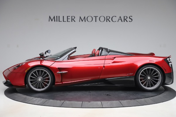 Used 2017 Pagani Huayra Roadster for sale Call for price at Bugatti of Greenwich in Greenwich CT 06830 3