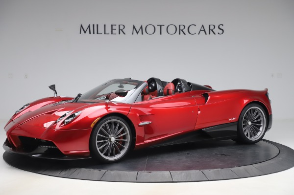 Used 2017 Pagani Huayra Roadster for sale Call for price at Bugatti of Greenwich in Greenwich CT 06830 1