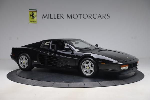 Used 1991 Ferrari Testarossa for sale $129,900 at Bugatti of Greenwich in Greenwich CT 06830 10