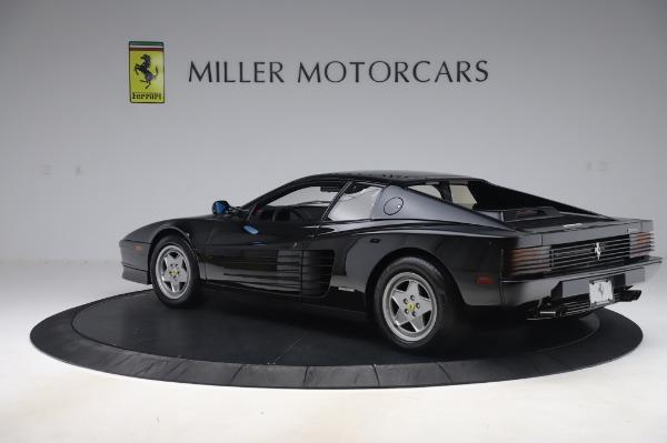 Used 1991 Ferrari Testarossa for sale $129,900 at Bugatti of Greenwich in Greenwich CT 06830 4