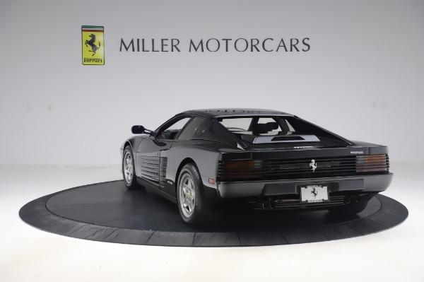 Used 1991 Ferrari Testarossa for sale $129,900 at Bugatti of Greenwich in Greenwich CT 06830 5