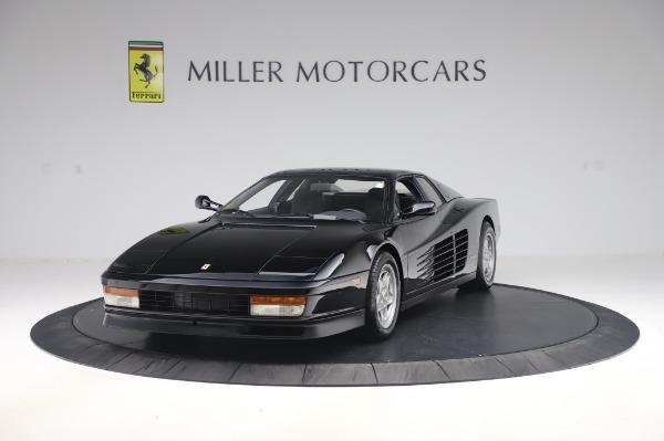 Used 1991 Ferrari Testarossa for sale $129,900 at Bugatti of Greenwich in Greenwich CT 06830 1