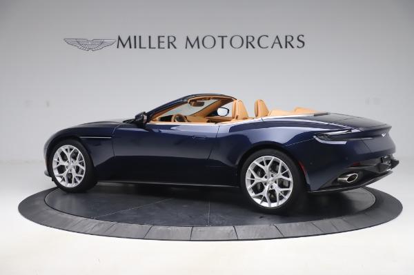 Used 2019 Aston Martin DB11 Volante Convertible for sale $198,900 at Bugatti of Greenwich in Greenwich CT 06830 3