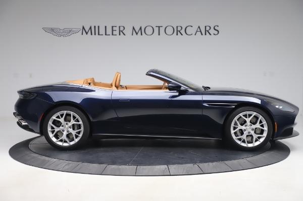 Used 2019 Aston Martin DB11 Volante Convertible for sale $198,900 at Bugatti of Greenwich in Greenwich CT 06830 8