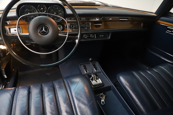 Used 1971 Mercedes Benz 300 SEL 6.3 for sale $117,000 at Bugatti of Greenwich in Greenwich CT 06830 14