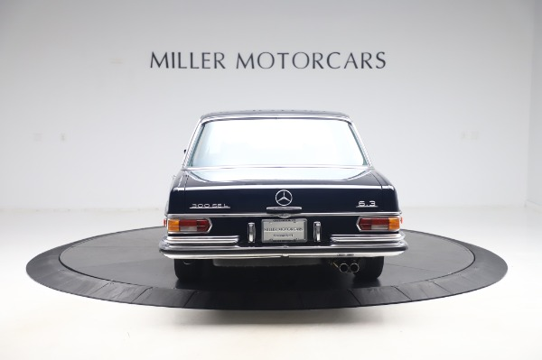 Used 1971 Mercedes Benz 300 SEL 6.3 for sale $117,000 at Bugatti of Greenwich in Greenwich CT 06830 6