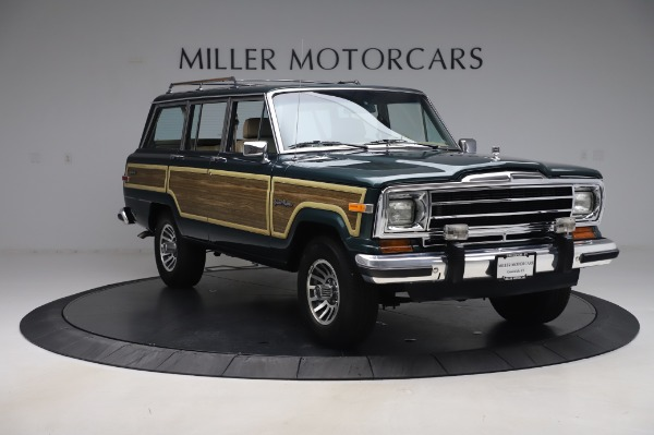 Used 1991 Jeep Grand Wagoneer for sale Call for price at Bugatti of Greenwich in Greenwich CT 06830 11