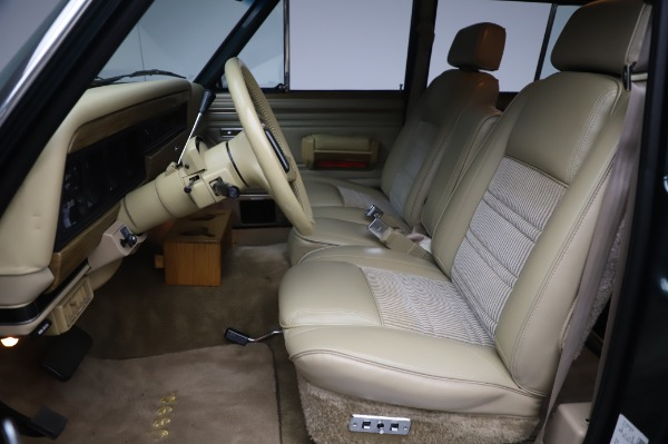 Used 1991 Jeep Grand Wagoneer for sale Call for price at Bugatti of Greenwich in Greenwich CT 06830 13