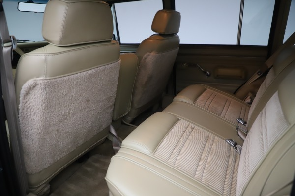 Used 1991 Jeep Grand Wagoneer for sale Call for price at Bugatti of Greenwich in Greenwich CT 06830 15