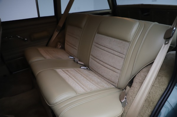 Used 1991 Jeep Grand Wagoneer for sale Call for price at Bugatti of Greenwich in Greenwich CT 06830 17