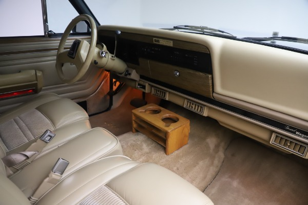 Used 1991 Jeep Grand Wagoneer for sale Call for price at Bugatti of Greenwich in Greenwich CT 06830 18