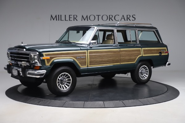 Used 1991 Jeep Grand Wagoneer for sale Call for price at Bugatti of Greenwich in Greenwich CT 06830 2