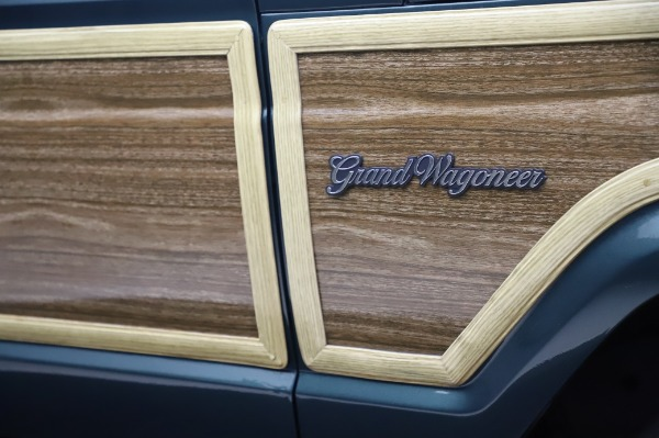 Used 1991 Jeep Grand Wagoneer for sale Call for price at Bugatti of Greenwich in Greenwich CT 06830 28
