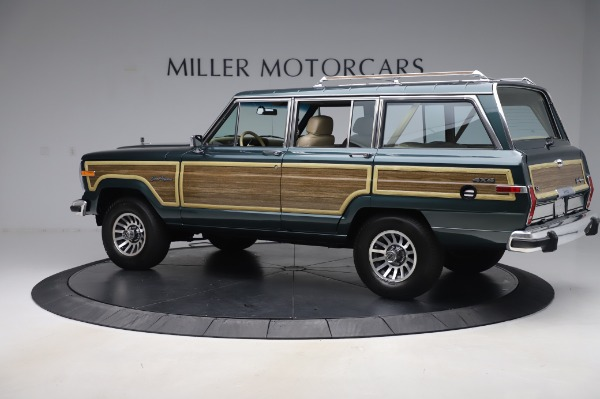 Used 1991 Jeep Grand Wagoneer for sale Call for price at Bugatti of Greenwich in Greenwich CT 06830 4