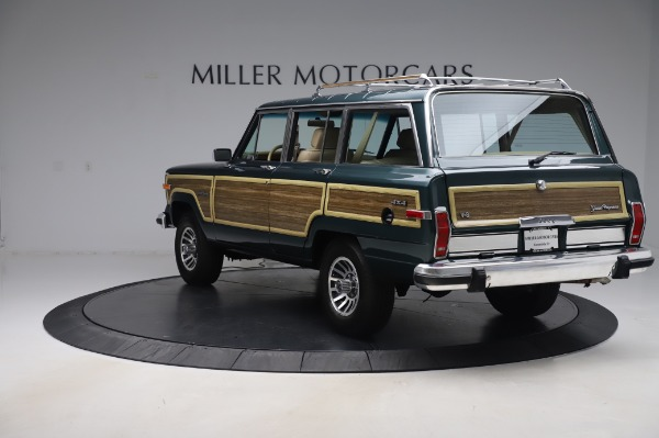 Used 1991 Jeep Grand Wagoneer for sale Call for price at Bugatti of Greenwich in Greenwich CT 06830 5