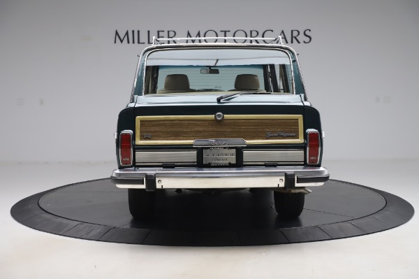 Used 1991 Jeep Grand Wagoneer for sale Call for price at Bugatti of Greenwich in Greenwich CT 06830 6