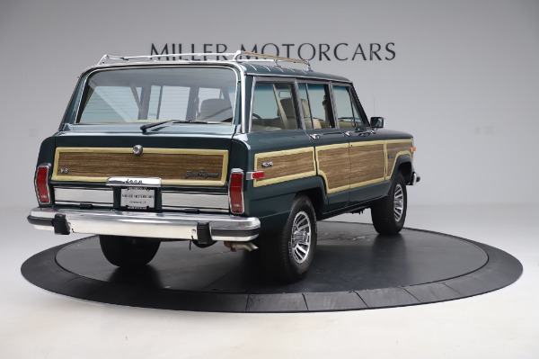 Used 1991 Jeep Grand Wagoneer for sale Call for price at Bugatti of Greenwich in Greenwich CT 06830 7