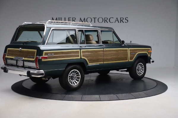 Used 1991 Jeep Grand Wagoneer for sale Call for price at Bugatti of Greenwich in Greenwich CT 06830 8