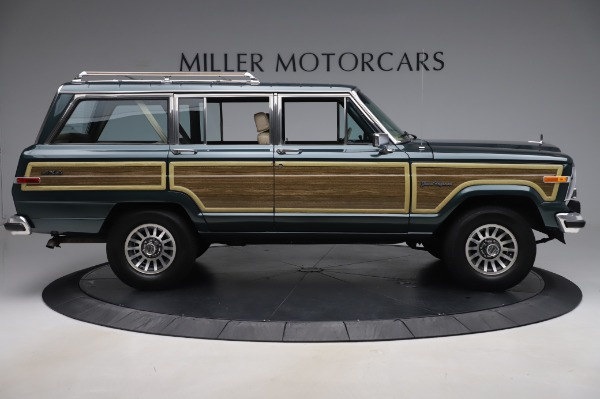 Used 1991 Jeep Grand Wagoneer for sale Call for price at Bugatti of Greenwich in Greenwich CT 06830 9