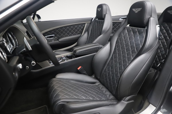 Used 2016 Bentley Continental GT Convertible Speed for sale $139,900 at Bugatti of Greenwich in Greenwich CT 06830 19
