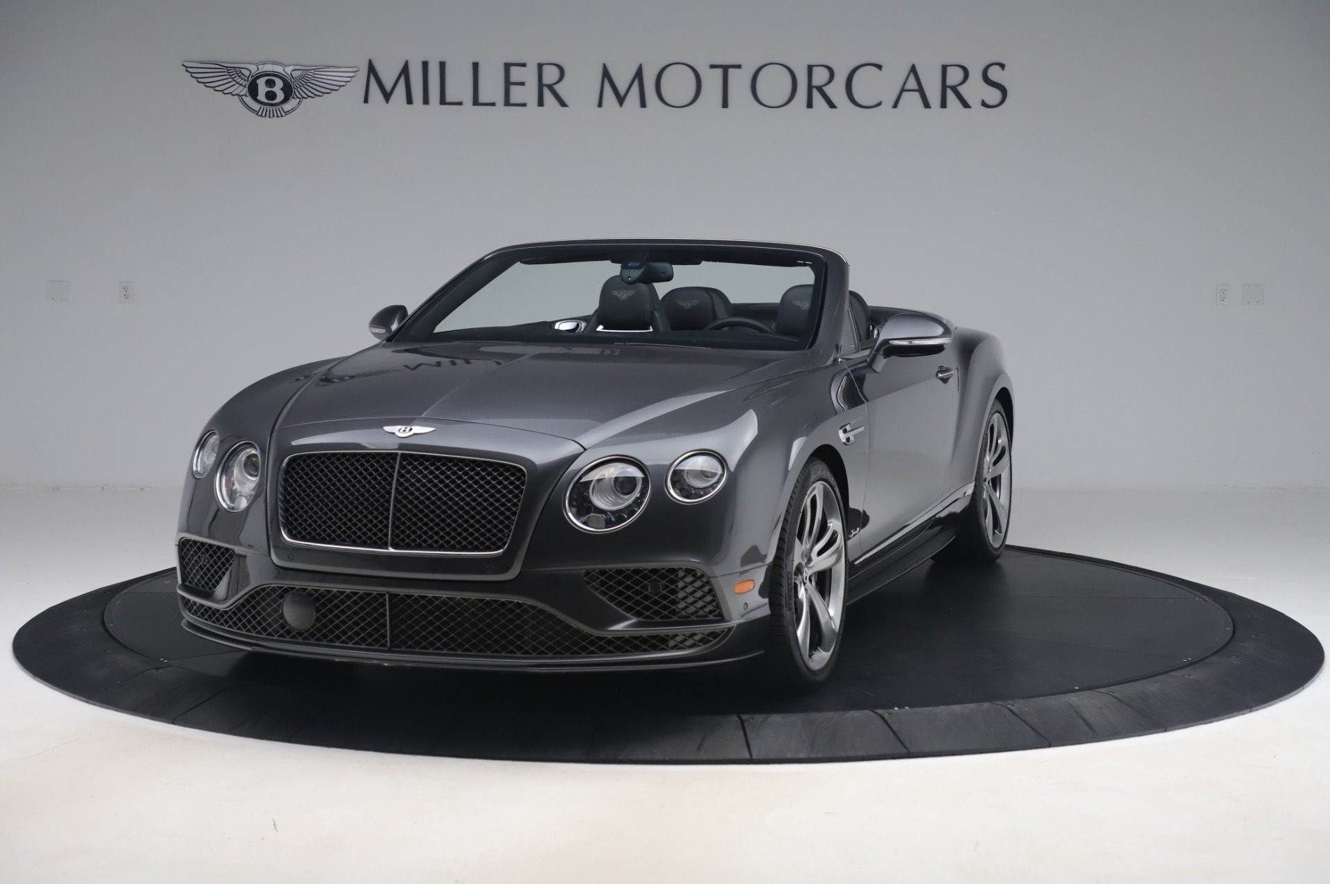 Used 2016 Bentley Continental GT Convertible Speed for sale $139,900 at Bugatti of Greenwich in Greenwich CT 06830 1