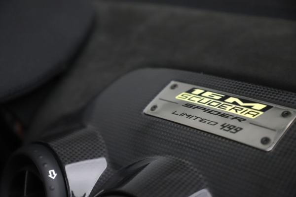 Used 2009 Ferrari 430 Scuderia Spider 16M for sale $329,900 at Bugatti of Greenwich in Greenwich CT 06830 24