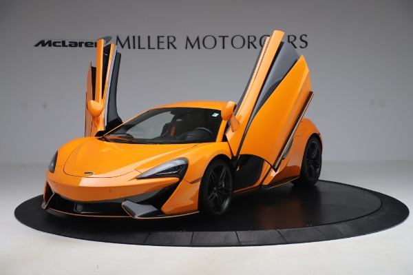 Used 2017 McLaren 570S for sale Call for price at Bugatti of Greenwich in Greenwich CT 06830 13