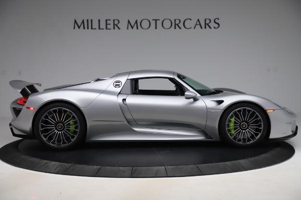 Used 2015 Porsche 918 Spyder for sale $1,389,900 at Bugatti of Greenwich in Greenwich CT 06830 19