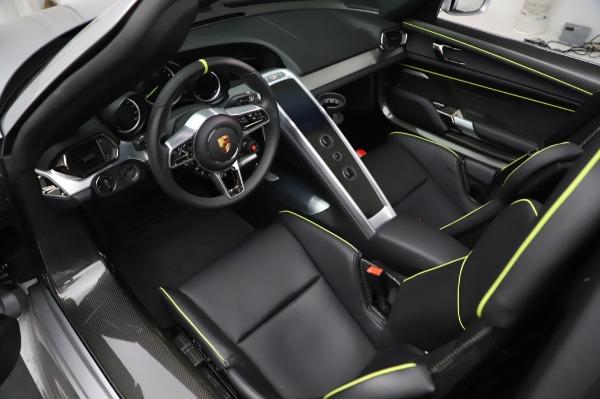 Used 2015 Porsche 918 Spyder for sale $1,389,900 at Bugatti of Greenwich in Greenwich CT 06830 22