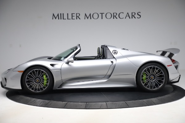 Used 2015 Porsche 918 Spyder for sale $1,389,900 at Bugatti of Greenwich in Greenwich CT 06830 3