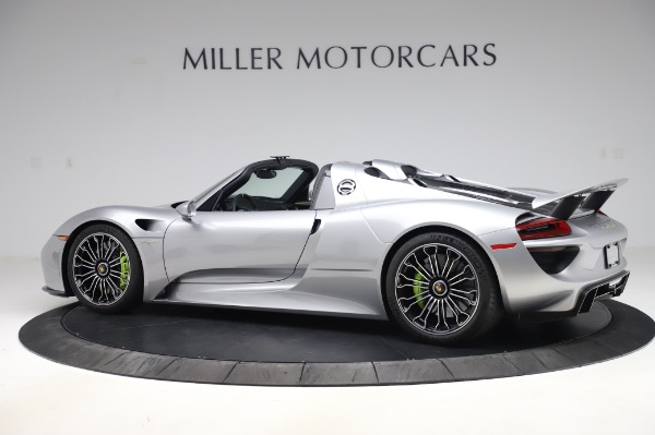 Used 2015 Porsche 918 Spyder for sale $1,389,900 at Bugatti of Greenwich in Greenwich CT 06830 4