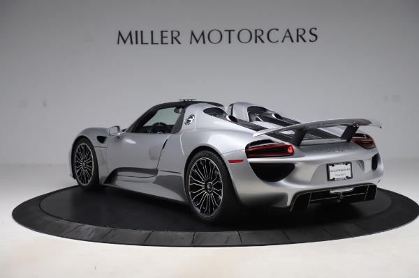 Used 2015 Porsche 918 Spyder for sale $1,389,900 at Bugatti of Greenwich in Greenwich CT 06830 5