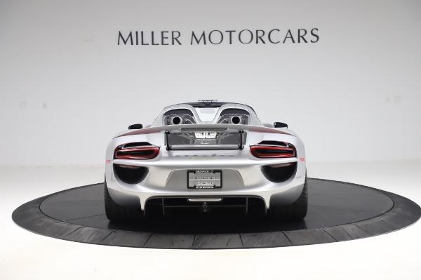 Used 2015 Porsche 918 Spyder for sale $1,389,900 at Bugatti of Greenwich in Greenwich CT 06830 6