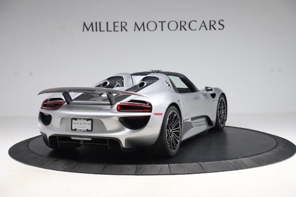 Used 2015 Porsche 918 Spyder for sale $1,389,900 at Bugatti of Greenwich in Greenwich CT 06830 7