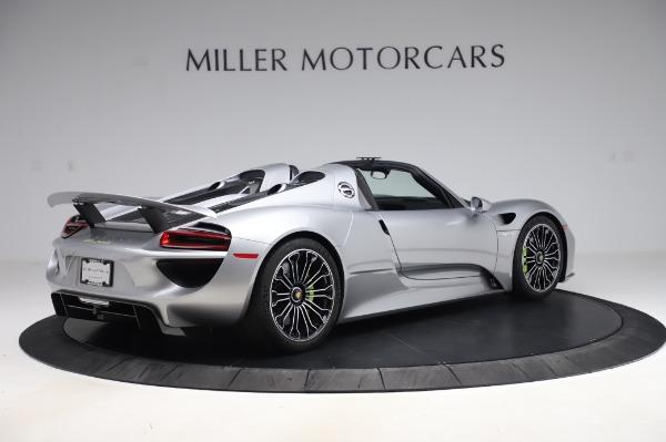 Used 2015 Porsche 918 Spyder for sale $1,389,900 at Bugatti of Greenwich in Greenwich CT 06830 8
