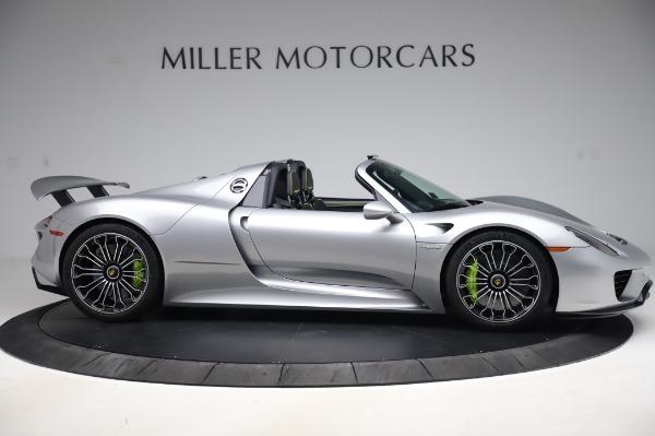 Used 2015 Porsche 918 Spyder for sale $1,389,900 at Bugatti of Greenwich in Greenwich CT 06830 9