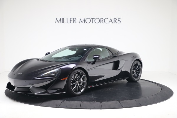 Used 2019 McLaren 570S Spider Convertible for sale $189,900 at Bugatti of Greenwich in Greenwich CT 06830 10