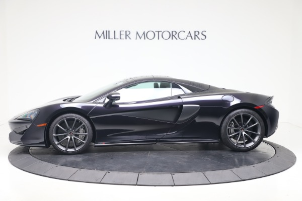 Used 2019 McLaren 570S Spider Convertible for sale $189,900 at Bugatti of Greenwich in Greenwich CT 06830 11