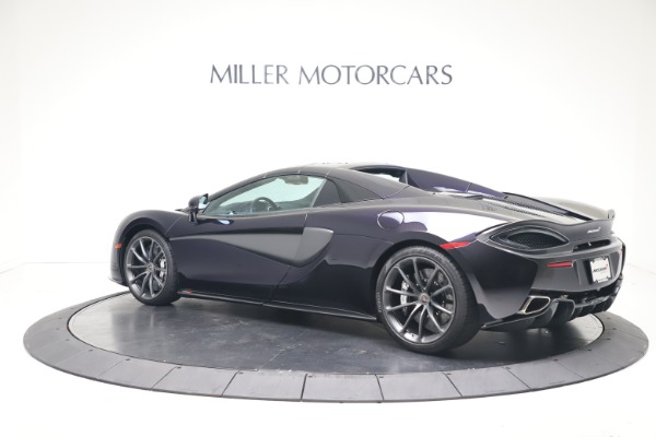 Used 2019 McLaren 570S Spider Convertible for sale $189,900 at Bugatti of Greenwich in Greenwich CT 06830 12