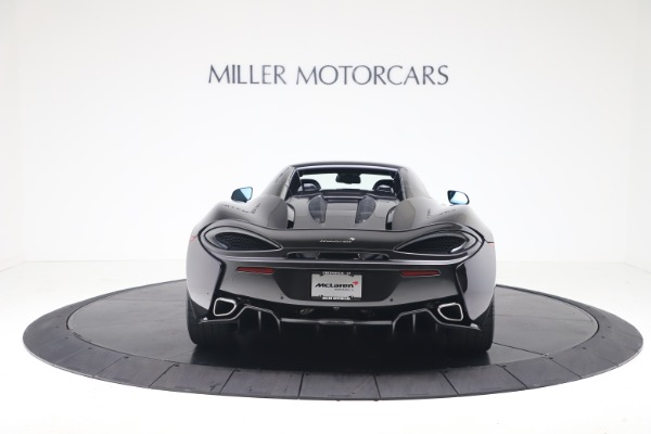 Used 2019 McLaren 570S Spider Convertible for sale $189,900 at Bugatti of Greenwich in Greenwich CT 06830 13