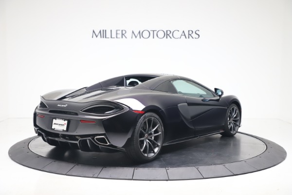 Used 2019 McLaren 570S Spider Convertible for sale $189,900 at Bugatti of Greenwich in Greenwich CT 06830 14
