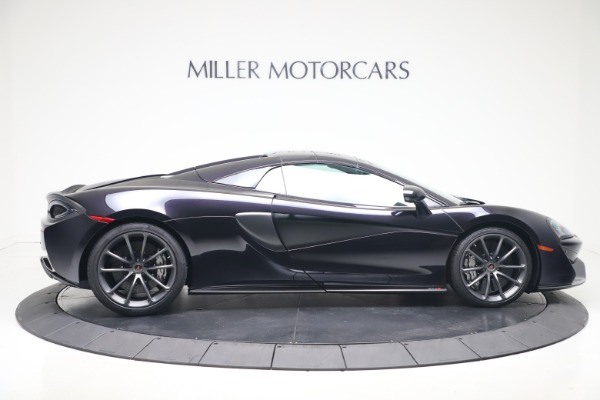 Used 2019 McLaren 570S Spider Convertible for sale $189,900 at Bugatti of Greenwich in Greenwich CT 06830 15