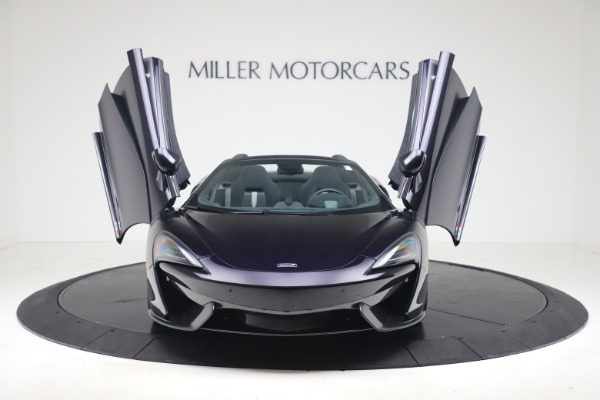 Used 2019 McLaren 570S Spider Convertible for sale $189,900 at Bugatti of Greenwich in Greenwich CT 06830 17