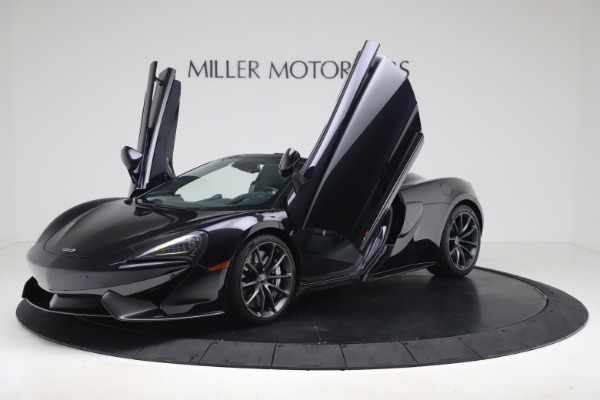 Used 2019 McLaren 570S Spider Convertible for sale $189,900 at Bugatti of Greenwich in Greenwich CT 06830 18