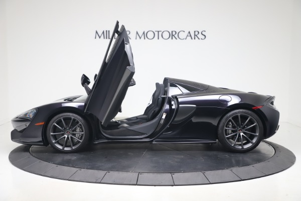 Used 2019 McLaren 570S Spider for sale $186,900 at Bugatti of Greenwich in Greenwich CT 06830 19