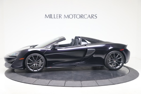 Used 2019 McLaren 570S Spider Convertible for sale $189,900 at Bugatti of Greenwich in Greenwich CT 06830 2